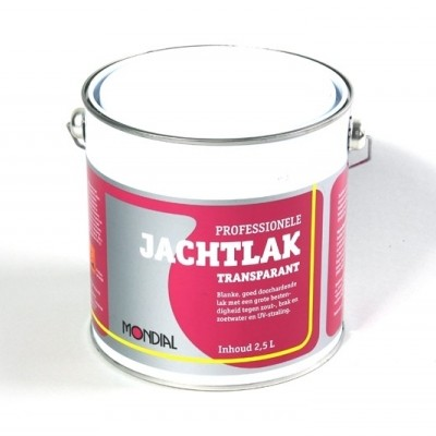 Mondial Jachtlak kleurloos 2,5 L
