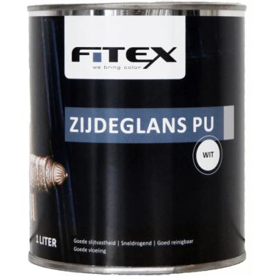 Fitex Zijdeglans PU Wit 2,5L
