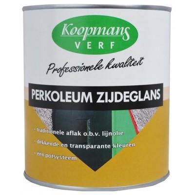 Foto van Koopmans Perkoleum Zijdeglans Zwart 750mL