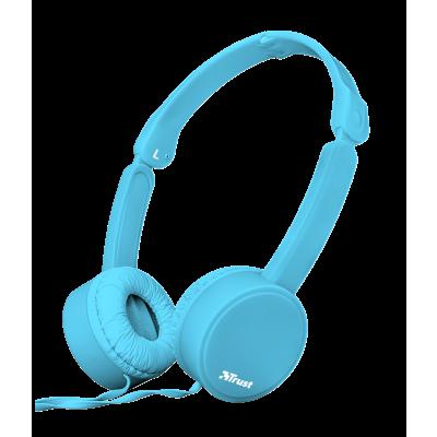Trust Nano Foldable Headphones - blue 23100