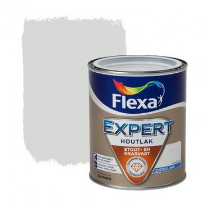 Foto van Flexa Expert | Zijdeglans lak | 103 Ivoorbruin | 0,75 liter