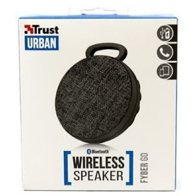 Trust Fyber Go Wireless Speaker bk