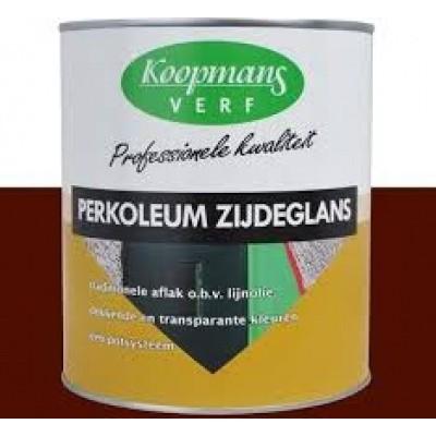 Foto van Koopmans Perkoleum Zijdeglans Donkerbruin 2,5L