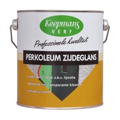 Foto van Koopmans Perkoleum Zijdeglans Antraciet 2,5L
