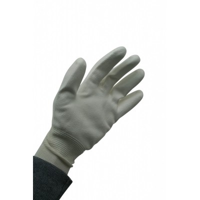 Werkhandschoen PU Flex Nylon Wit Maat9