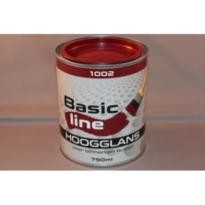 Basicline 9010 Hoogglans 750ML