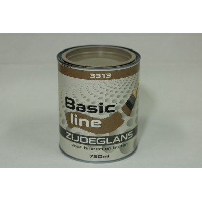 Basicline 3313 Zijdeglans 750ML