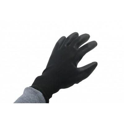 Werkhandschoen PU Flex Nylon Zwart Maat9