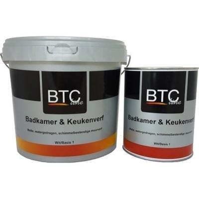 Foto van BTC Badkamerverf Wit 2,5L