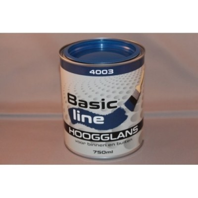 Basicline 4003 Hoogglans 750ML