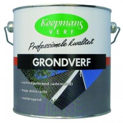 Foto van Koopmans Grondverf 2.5 liter wit