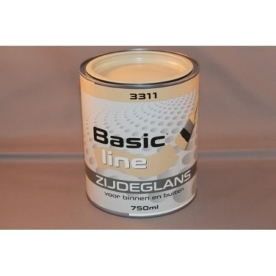 Basicline 3311 Zijdeglans 750ML
