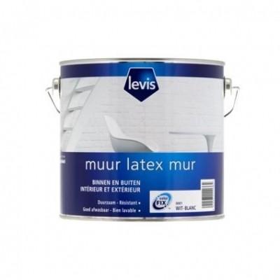 Levis Muurverf Mat Zwart
