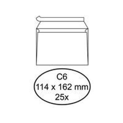 Envelop Bank C6 114*162 Wit