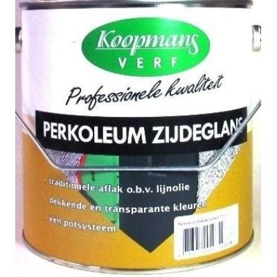 Foto van Koopmans Perkoleum Zijdeglans Blank-UV 2,5 L