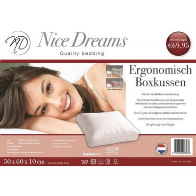 Foto van Nice Dreams Boxkussen 60cm X 50cm