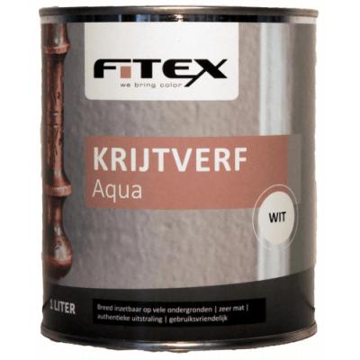 Fitex Krijtverf Aqua Wit 2,5L