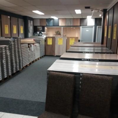 Foto van Nieuwe laminaatafdeling!