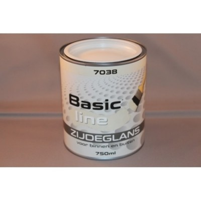 Basicline 7038 Zijdeglans 750ML