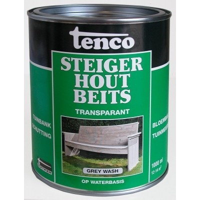 Tenco Steigerhoutbeits Grey Wash 1L