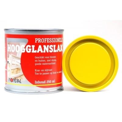 Mondial Geel Hoogglans 250ML