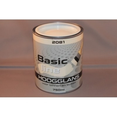 Basicline 2081 Hoogglans 750ML