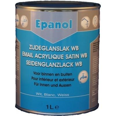 Epanol Zijdeglans Waterbasis Wit 1L