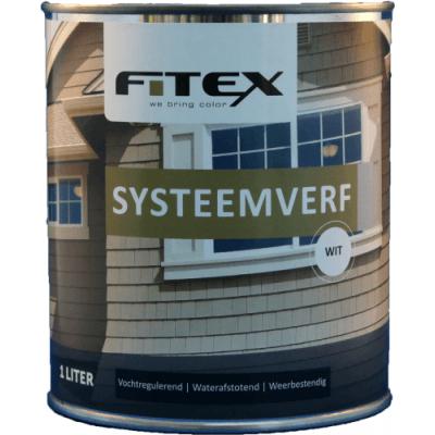 Foto van Fitex Systeemverf Gemengd 1L