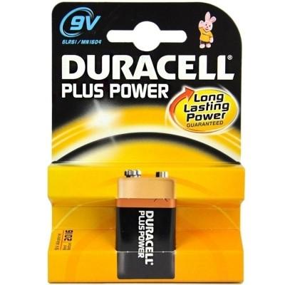 Duracell 6LRr61 (9V) Plus Power