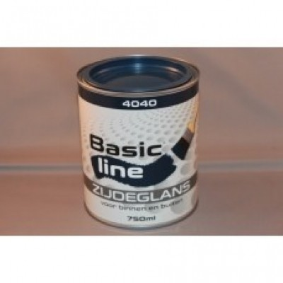 Basicline 4040 Zijdeglans 750ML