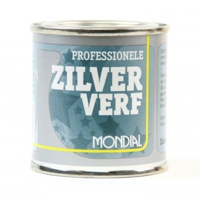 Foto van Mondial Zilververf 100ML