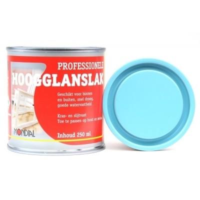 Mondial Aquablauw Hoogglans 250ML