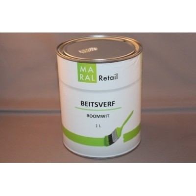 Maral Beitsverf Roomwit 1L