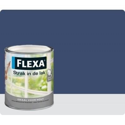 Flexa Strak In De Lak Hoogglans Nachtblauw