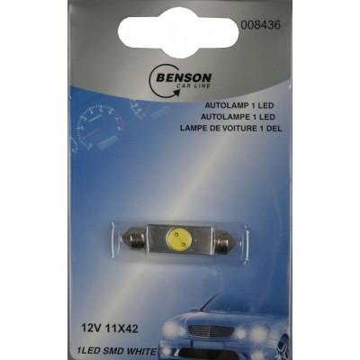 Foto van Autolamp Led 12V 1Led 11 X 39 Smd White