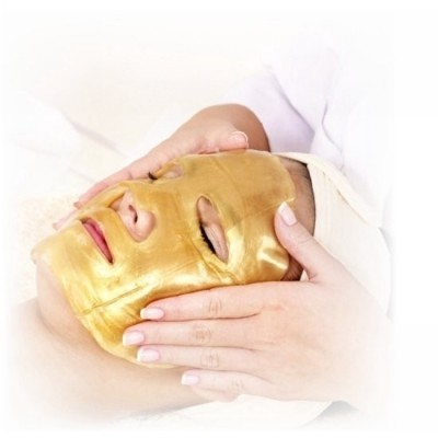 Crystal Gold Collageen Gezichtsmasker