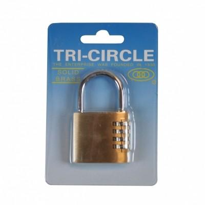 Hang- Cijferslot 40 MM Tri-Circle B/C