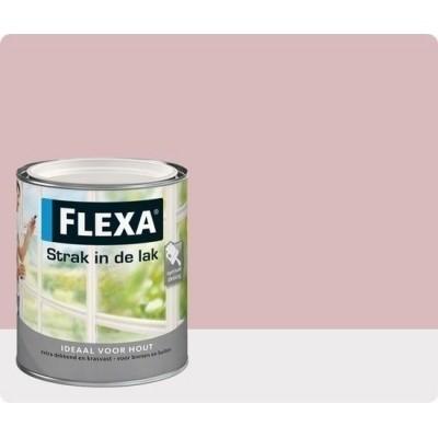 Flexa Strak In De Lak Zijdeglans Oud Roze
