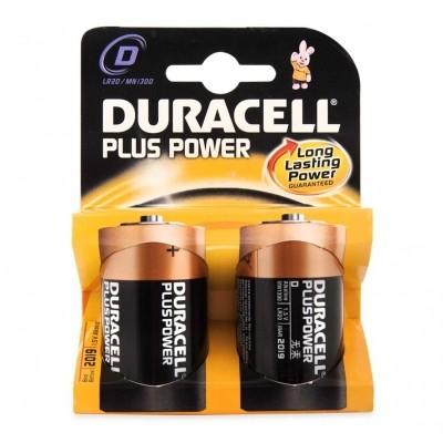 Duracell LR20 (D) Plus Power