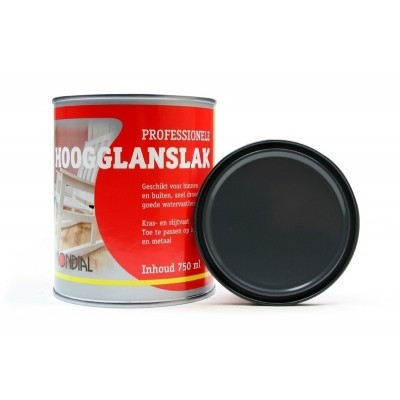 Mondial Antraciet Hoogglans 750ML