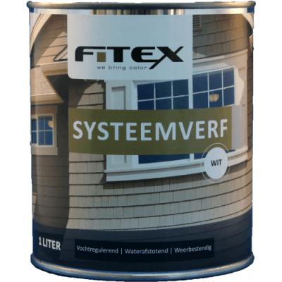 Fitex Systeemverf Wit 1L