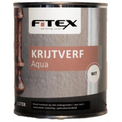 Foto van Fitex Krijtverf Aqua Gemengd 1L