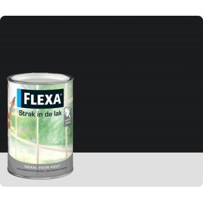 Flexa Strak In De Lak Hoogglans Zwart