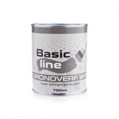 Basicline Grondverf Wit 750 ML