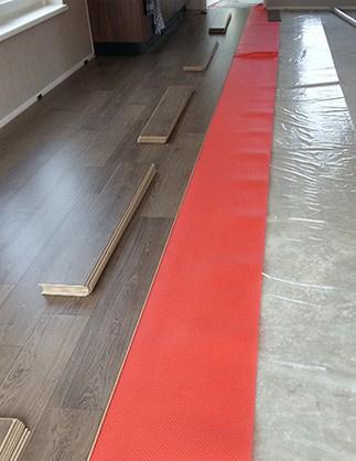 Laminaat vloer leggen in Winsum