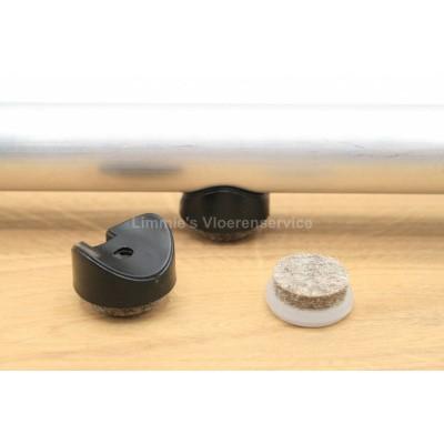 Foto van Viltglijder voor buisframe 20mm (vervangbaar)