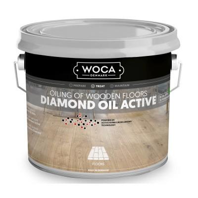 Foto van Woca Diamond Oil Active Smoke Brown
