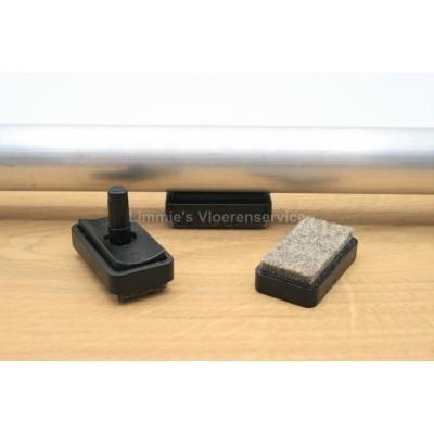 Foto van Viltglijder voor buisframe met 5,5mm pen