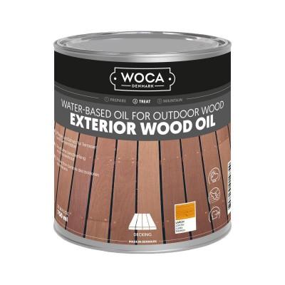 Foto van Woca Exterior Wood Oil Lariks
