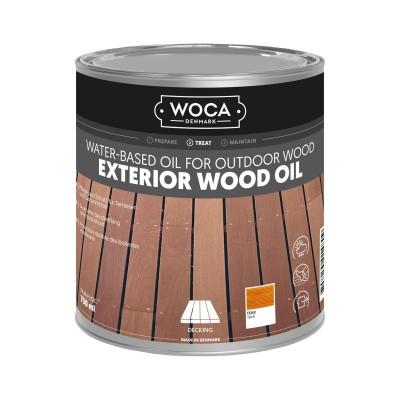 Foto van Woca Exterior Wood Oil Teak